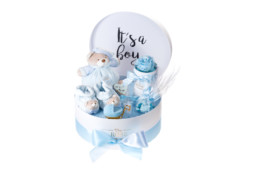 Hamper Box - Newborn «It's A Boy» Box Signature