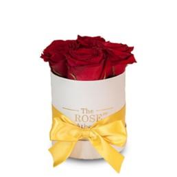 Φρέσκα Τριαντάφυλλα Σε κουτί baby με κόκκινα τριαντάφυλλα