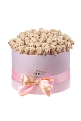 Αρκουδάκια Κουτί Large Pink Bear