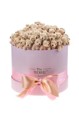 Αρκουδάκια Κουτί Medium Pink Bear