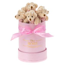 Αρκουδάκια Κουτί Mini Pink Bear Box