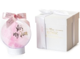 «She's My Queen» Christmas Baubles Σε Ροζ