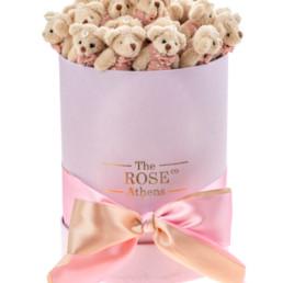 Αρκουδάκια Κουτί Small Pink Bear