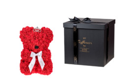 Toyflower Crown Από Κόκκινα Τριαντάφυλλα. Πακέτο Πολυτελείας