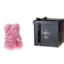 Toyflower 25cm Από Ρόζ Τριαντάφυλλα. Πακέτο Πολυτελείας