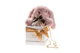 Κουτί Hamper για δώρο με κουνελάκι σε κουτί πολυτελείας