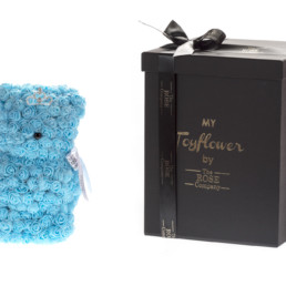 Toyflower Small 25Cm Με γαλάζια τριαντάφυλλα Και Κορόνα