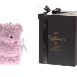 Toyflower Small 25Cm Με Ροζ Τριαντάφυλλα Και Κορόνα