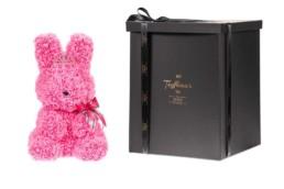 Toyflower Bunny Με Ροζ Τριαντάφυλλα, Μπιζού & Κορόνα, 48εκ