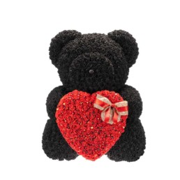 Giant Toyflower Black with red heart