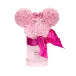 Forever Roses Minnie Head Κουτί Ροζ