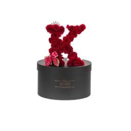 Letter Box Με Forever Roses(Περιλαμβάνει Και Το Κουτί)