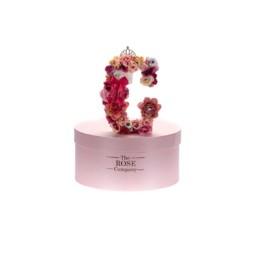 Letter Box Με Τεχνητά Τριαντάφυλλα (Διαρκούν Για Πάντα) G Περιλαμβάνει Και Το Κουτί