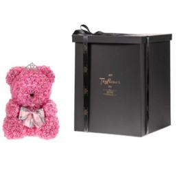 Toyflower 40cm Ροζ Με Swarovski Crystals Περιλαμβάνει Και Το Κουτί