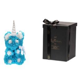 Toyflower Unicorn Blue 30cm Περιλαμβάνει Και Το Κουτί
