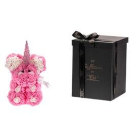 Toyflower Unicorn Ροζ 30cm  Περιλαμβάνει Και Το Κουτί