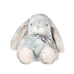 The Great Bouncy Bunny Grey 55cm New Luxury Handmade Limited Toys Made With Love In Sweden
