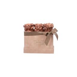 Forever Petite Velvet Nude Κουτί Με NEW Μρούτζο Τριαντάφυλλα