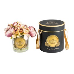Vase Collection Medium Real Touch Perfumed Flowers With Gorgeous Vase & Box (Διαρκούν Για Πάντα Με Υπέροχο Άρομα)