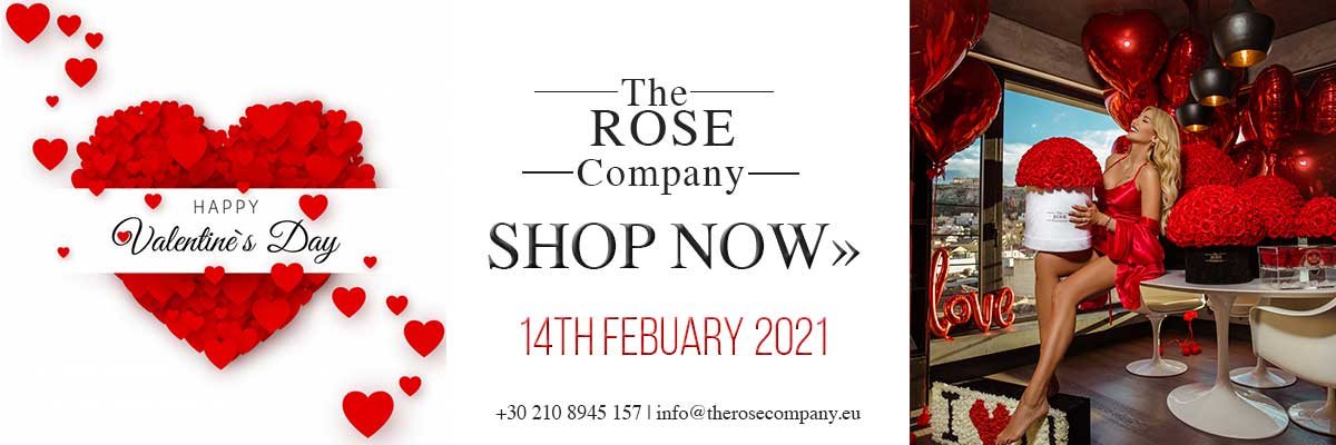 Valentines gifts 2021 - The Rose Company